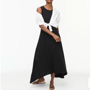 J Crew High Low Black Maxi Dress. XS